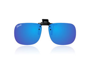 Polarised Clip-On Blue