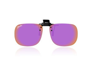 Polarised Clip-On Purple