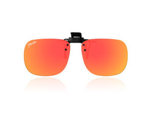 Polarised Clip-On Red
