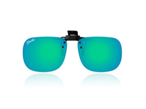 Polarised Clip-On Green