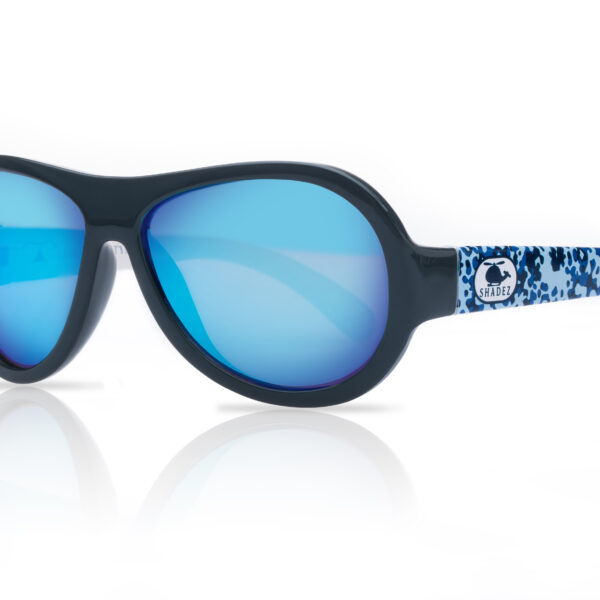 6c2ce7ab1d Shadez Kids Sunglasses Designers Helicopter Camo Blue 3-7 Years ...